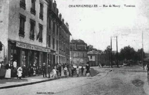 Rue de Nancy - Terminus