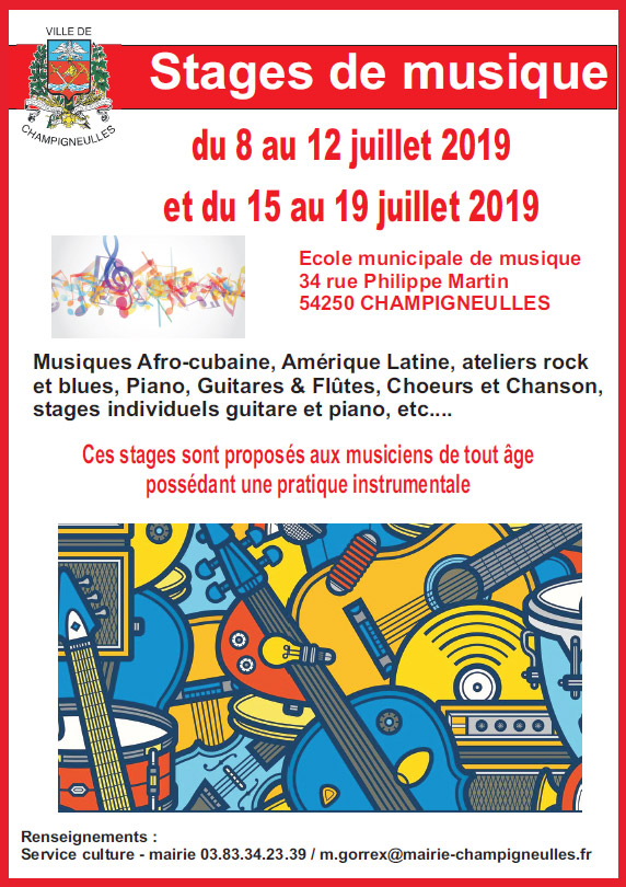 20190719 stages musique